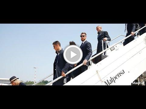 Real Madrid UCL final: Real Madrid have arrived in Milan https://t.co/...