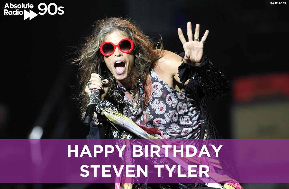 Happy Birthday Steven Tyler! 69 Today. What\s the ultimate Aerosmith song?