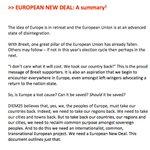"Democratize or Die? #DiEM25 launches a ""European New Deal"" https://t.co/W1yW2KzeZr"
