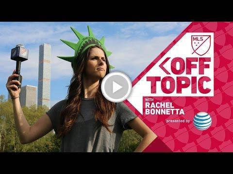 The New York-New York Fan Challenge | Off Topic with Rachel Bonnetta h...