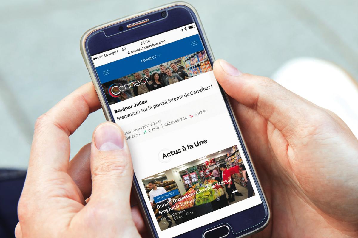 [#RETAIL] : @CarrefourFrance lance un nouveau portail d&#39;info interne baptisé &quot;Connect&quot; ! #digital #ecommerce  http:// buff.ly/2nKVdqj  &nbsp;   <br>http://pic.twitter.com/xTqXEyIKOh