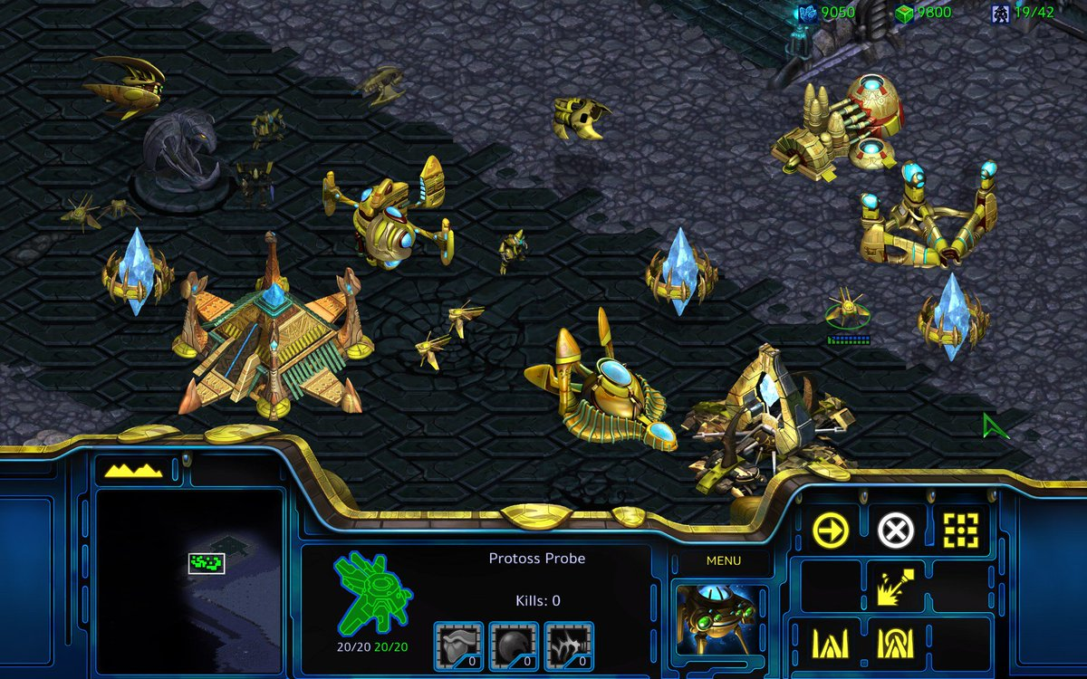 A remastered version of @StarCraft is coming this summer!   Full detai...