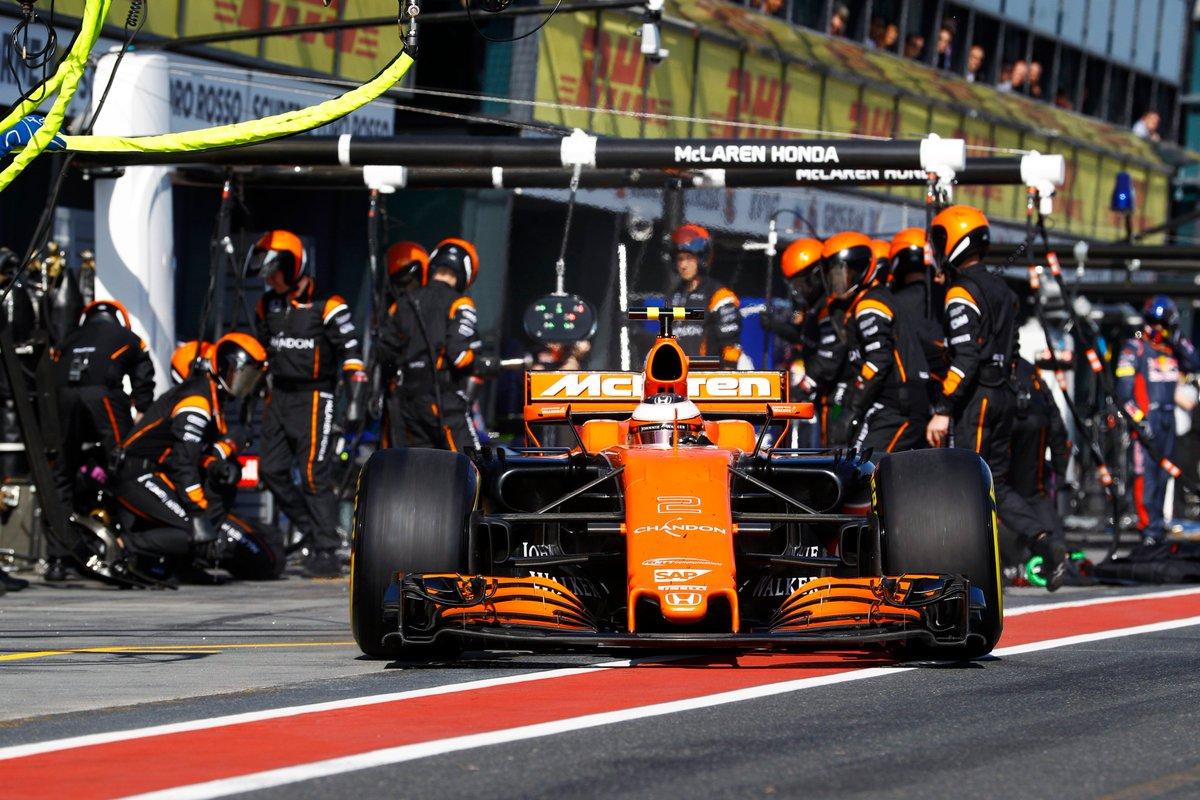 Stoffel takes the chequered flag P13, Fernando DNF. Thanks for your su...