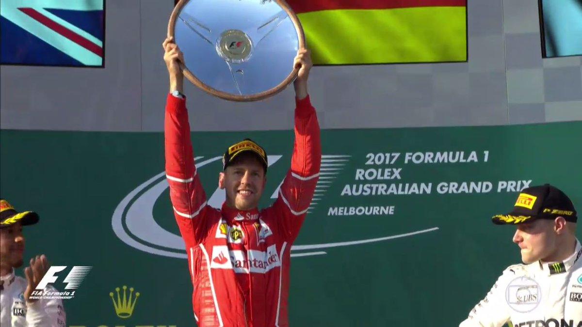 Bela saladeira, Vettel! https://t.co/8hSnarCAPh #F1noGP🇦🇺 https://t.co...