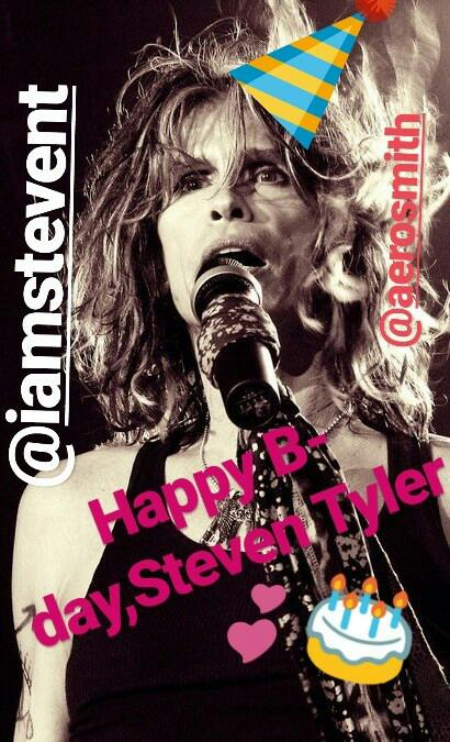 Happy Birthday,Steven Tyler!