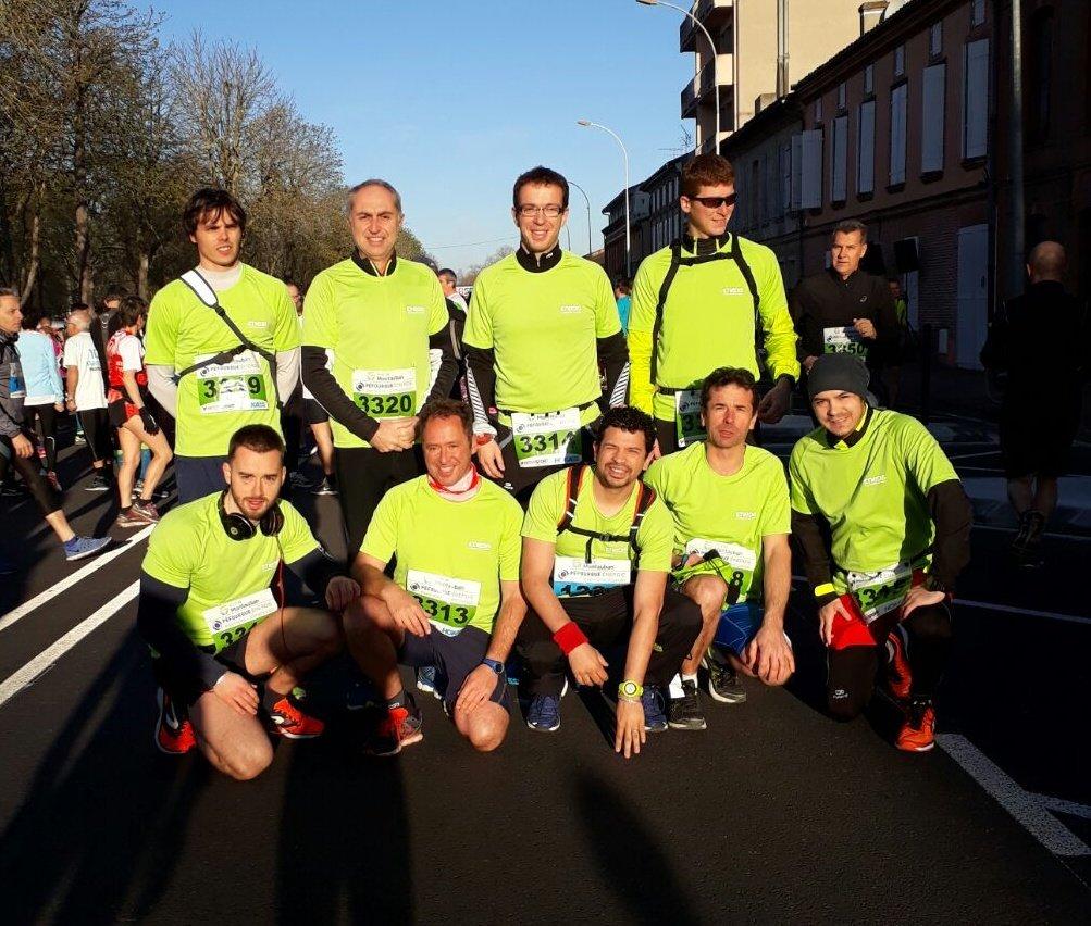 #Montauban : l&#39;equipe @enedis #TarnEtGaronne est prête et motivée  pour le #Marathon. On est tous avec vous  <br>http://pic.twitter.com/4IW16izO2I