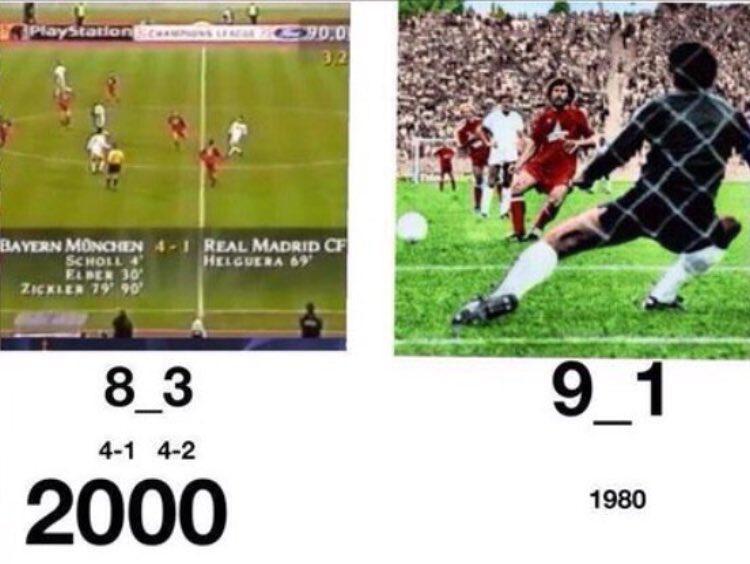 Naser On Twitter أكبر فضيحة لـ ريال مدريد كانت 1980 عندما جدلهم باير ميونخ 9 1 وفي سنة 2000 باير ميونخ الجمهم مرة أخرى 8 3 الصراحة الريال ليس لدية كرامة Https T Co Vn8bv22e8e
