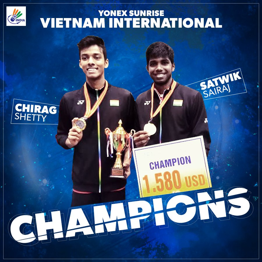 """PRANNOY HS on Twitter """"More young power to our doubles"""