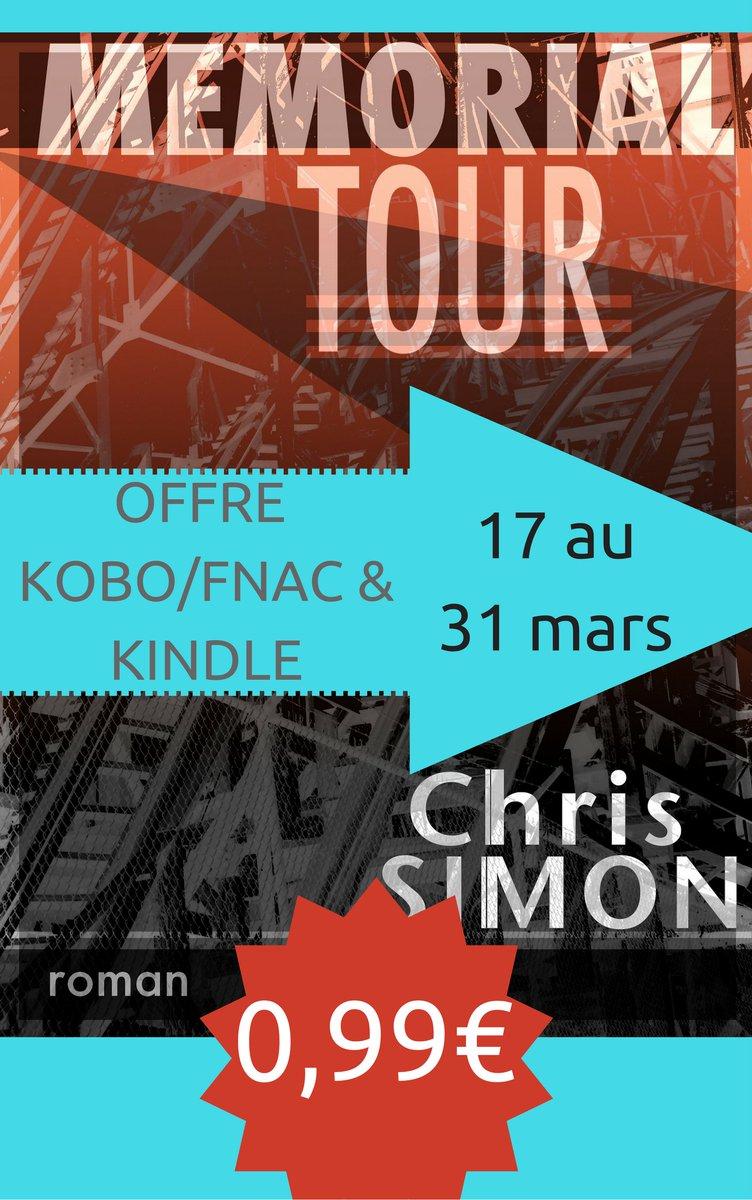 #Memorialtour en #promo #0,99 sur #Kobo :  http:// tinyurl.com/zx9elzn  &nbsp;   &amp; &amp; #Fnac  http:// tinyurl.com/my5xgt6  &nbsp;   #0,99  aussi sur #Kindle<br>http://pic.twitter.com/Bz1PpP7q3c