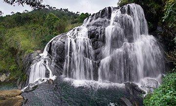Baker's Falls In Sri Lanka