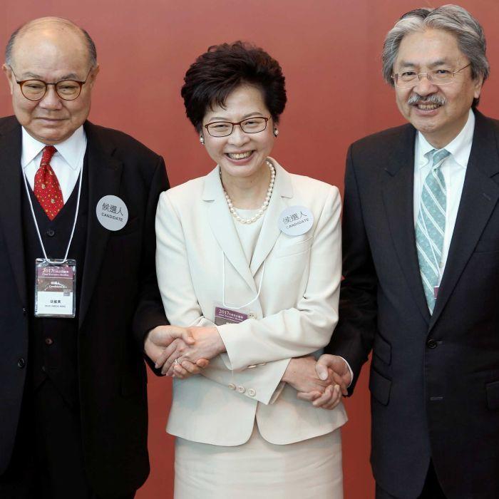 #Chinabacked #Carrie #Lam wins Hong Kong leadership  http:// ab.co/2njLvsi  &nbsp;  <br>http://pic.twitter.com/9J7sRoUOI3