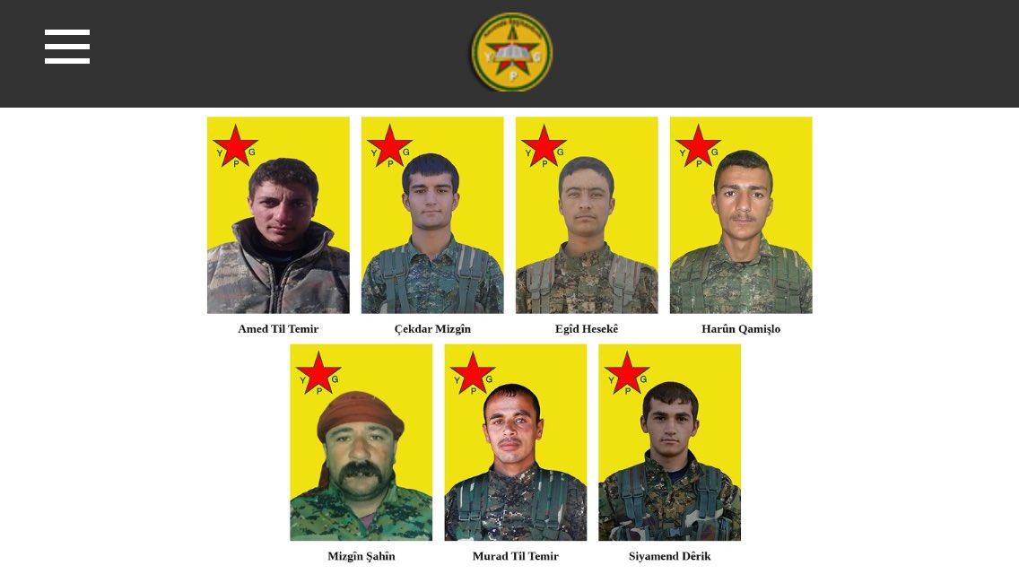 Les résistants qui sont tombés du 18 au 23 mars en combattant #Daech et le #djihadisme en Syrie du Nord. Nous n&#39;oublierons pas.<br>http://pic.twitter.com/a9WuBSOF3Q