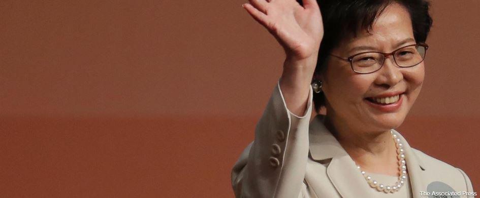 Beijing's pick Lam chosen as Hong Kong's leader