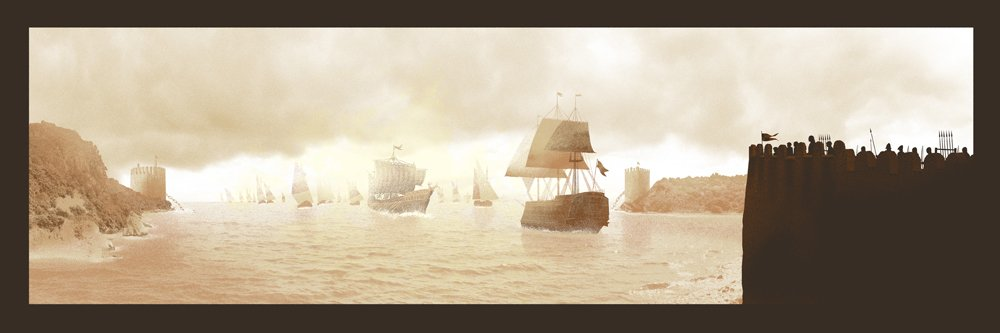 &quot;The #Battle of #Blackwater Bay&quot; #gameofthrones #got<br>http://pic.twitter.com/tqh40rlfQg