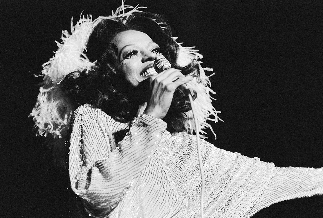 Happy Birthday to Diana Ross! Here\s one of the iconic soul singer and songwriter in concert, circa 1975.