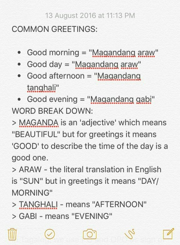 Good Afternoon Messages For Him Or Her Learn Tagalog Key Phrases To