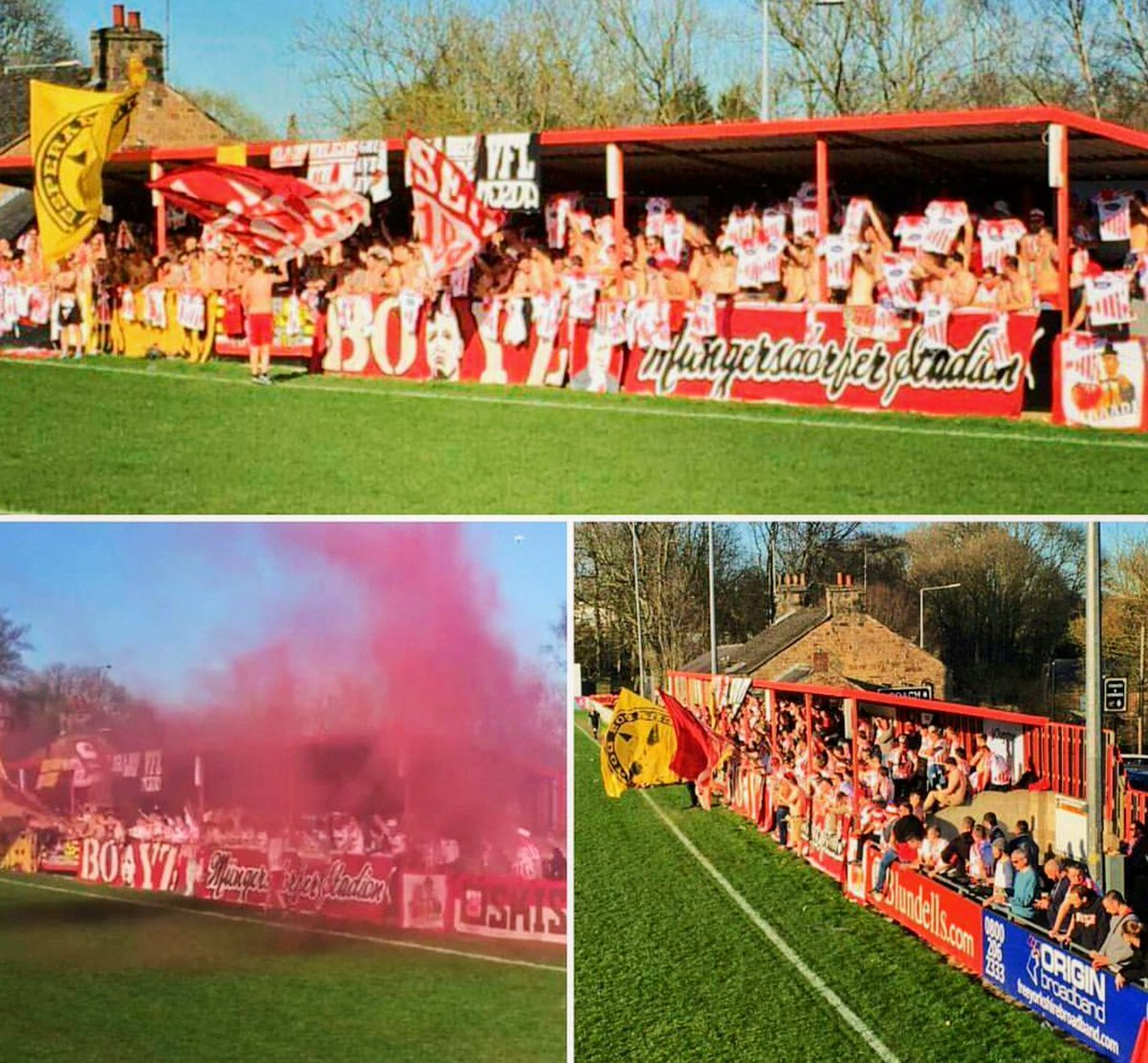 Real Cavo On Twitter Desperados And Boyz Away At Sheffield Fc Cca 400 Sheffield Desperadosundboyz Des99 Ultras