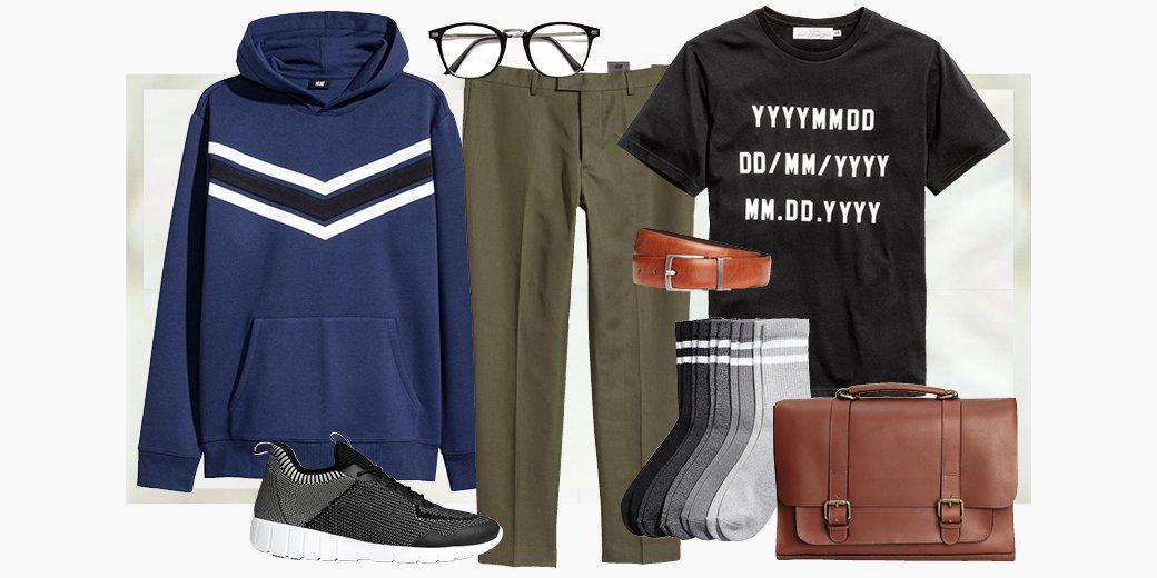 Rafraîchissez votre look sportif quotidien avec une veste avec capuchon et des chaussures de sport. #HMMan #HM <br>http://pic.twitter.com/i5fpXNnkr0
