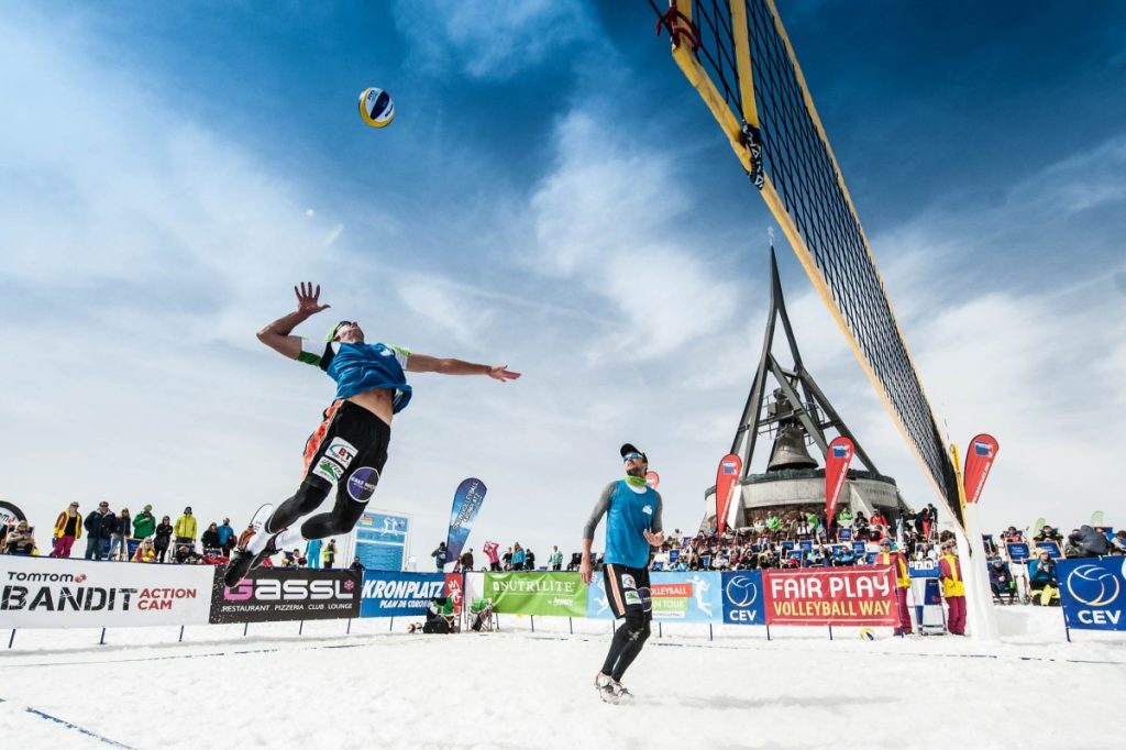 #Snow Volleyball european tour 2017, l&#39;ultima ... #Altoadige #Apresski #Bolzano #Brunico #Djset #Fotodelgiorno  http://www. scimarche.it/snow-volleybal l-european-tour-2017-ultima-tappa-kronplatz-plan-de-corones/ &nbsp; … <br>http://pic.twitter.com/mSeRz8cCuv