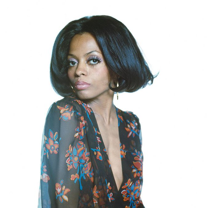 Happy Birthday to the iconic singer and all round remarkable talent, Diana Ross. Photo by Terry O\Neill