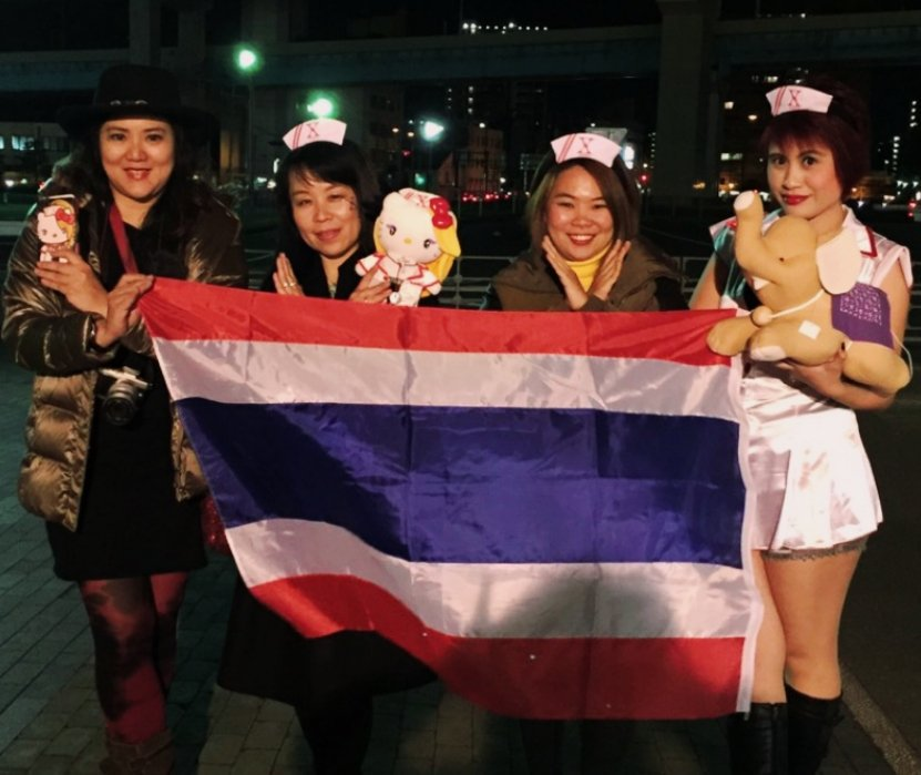 @YoshikiOfficial Thai nurses waiting for you. Can&#39;t wait to #Xjump with you here. #XJAPAN #WeAreX<br>http://pic.twitter.com/QQPWB6xuTO