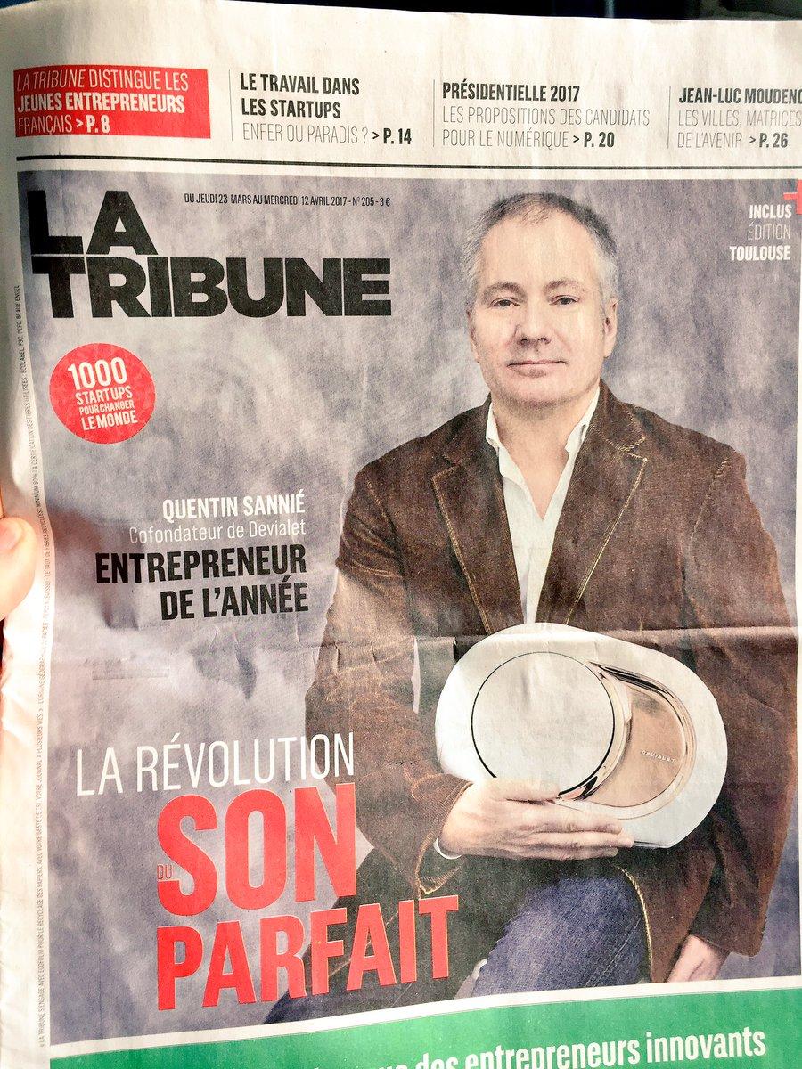Revue de presse @LaTribune @DEVIALET à la pointe de l&#39; #innovation #audio #son #phantom #FrenchTech #madeinFrance  #Marketing #rp #SoMe<br>http://pic.twitter.com/CH3DmJkBCl