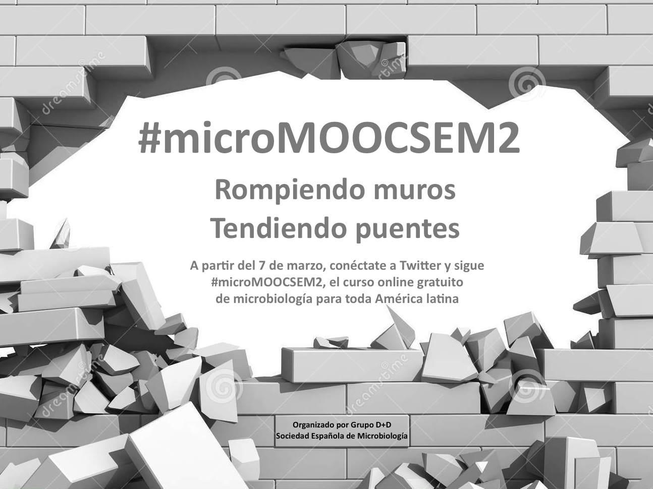 Comienza #microMOOCSEM2 el curso de microbiología vía Twitter y Facebook para España y toda América latina https://t.co/3xhokYXw2a