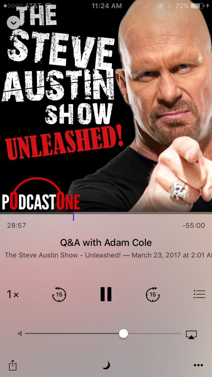 Love the podcasts with @steveaustinBSR & @AdamColePro 👍 https://t....