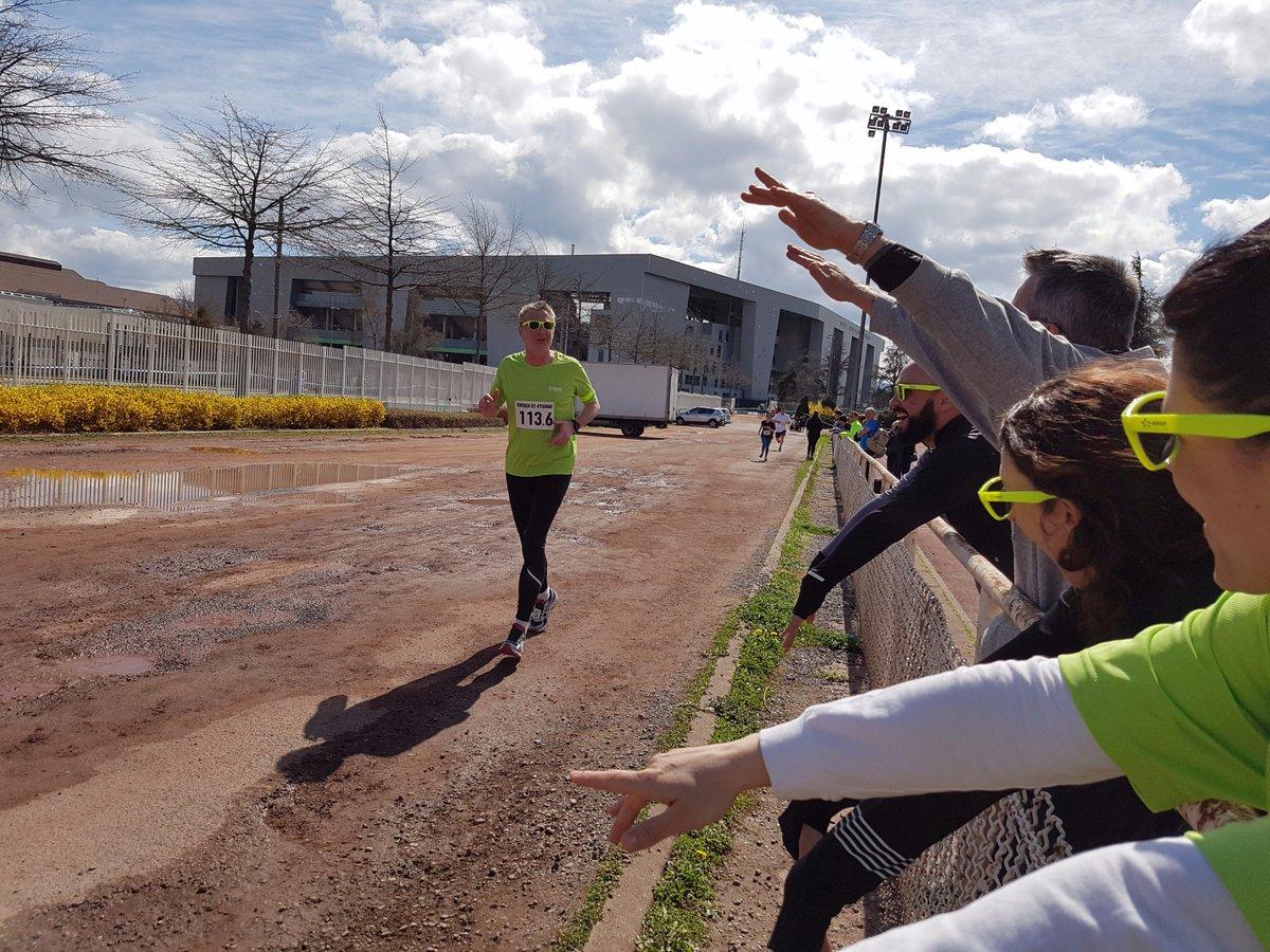 Fierté de voir les agents @enedis finir le #marathon en relais #ekiden by @enedis à  @saint_etienne_ ! #meninblue #autop<br>http://pic.twitter.com/4kWO9FMPx5