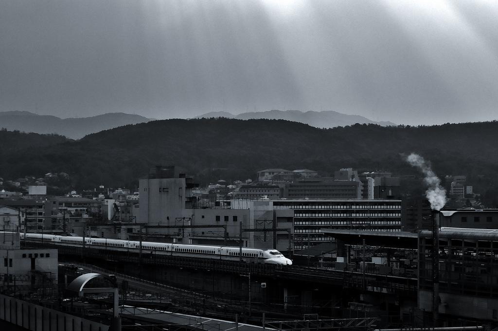 #鉄道写真 #新幹線 #京都駅  #ファインダー越しの私の世界 https://t.co/MK84nfIS5F