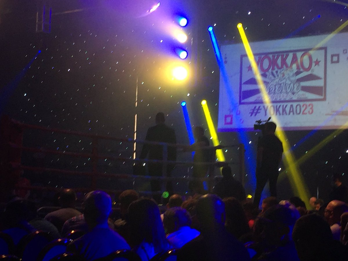 Some great performances from your #Fighters last night at #YOKKAO23 #YOKKAO24 @FHudders! You should be very proud!! #technicallygifted<br>http://pic.twitter.com/bVXwlf7S05