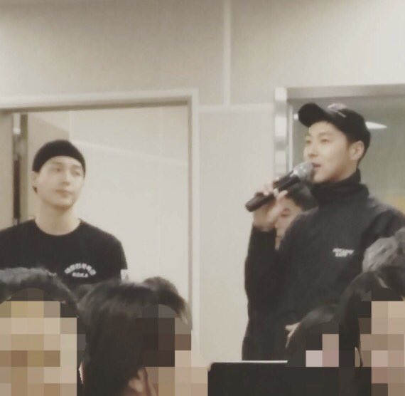 TVXQ Yunho yesterday. Cr. to owner https://t.co/IcBLpj53YO