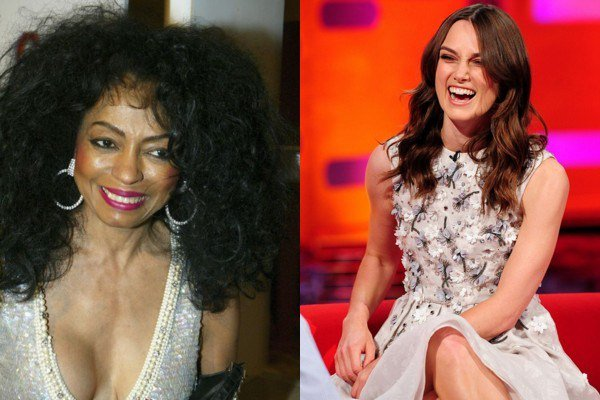 March 26: Happy Birthday Diana Ross and Keira Knightley