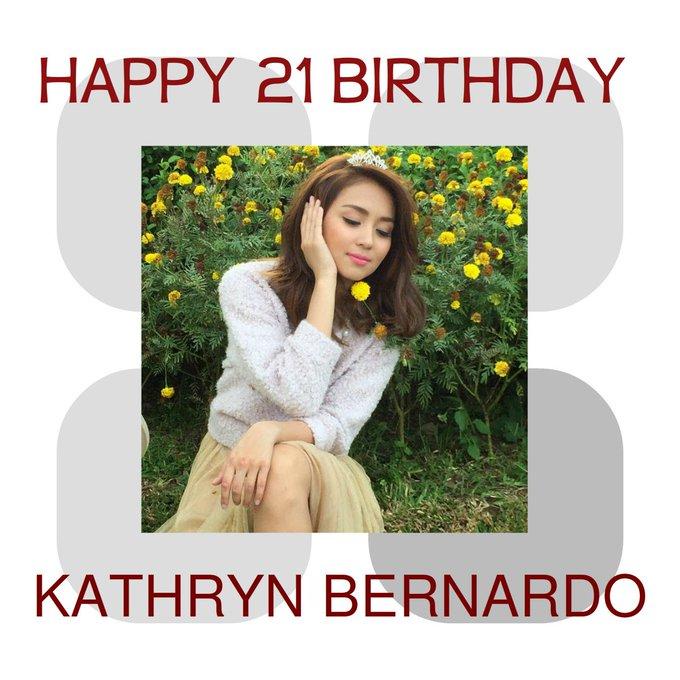 HAPY HAPPY BIRTHDAY ATE KATHRYN BERNARDO I PRAY FOR YOU TO HAVE A GOOD HEALTH