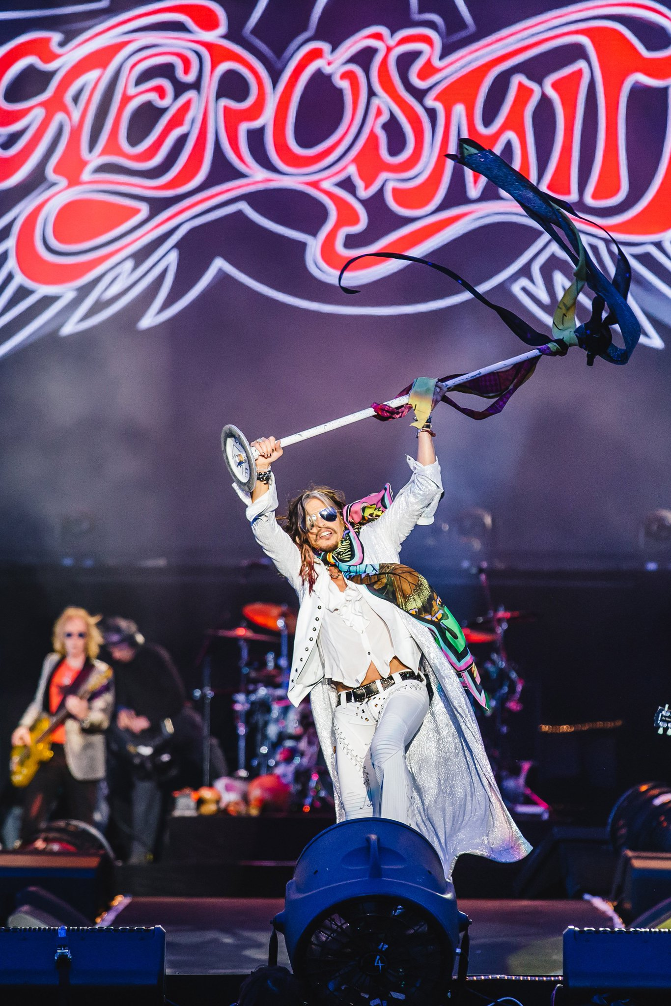 HAPPY BIRTHDAY Steven Tyler! Can\t wait to have you on our stage one LAST TIME to celebrate!