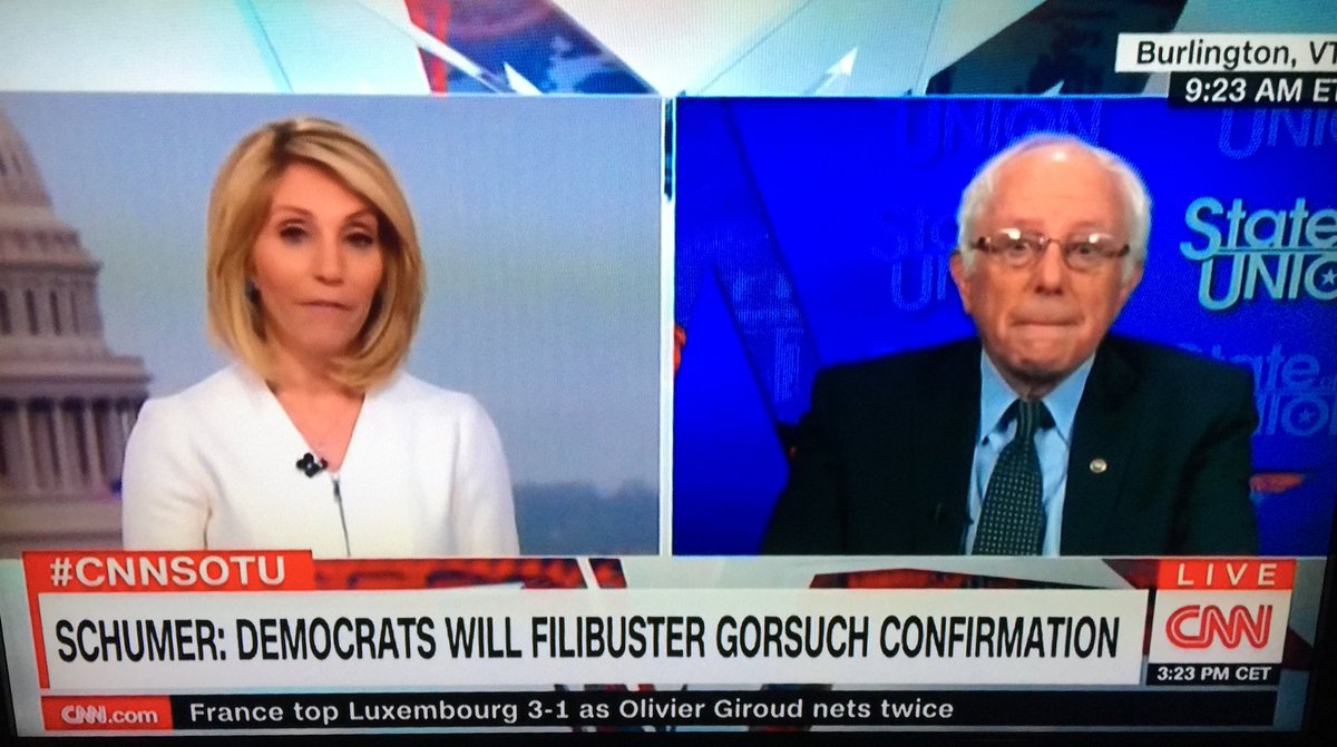Ironic that CNN is giving @BernieSanders more airtime now than it did before the election. https://t.co/QLGD7qp9ga