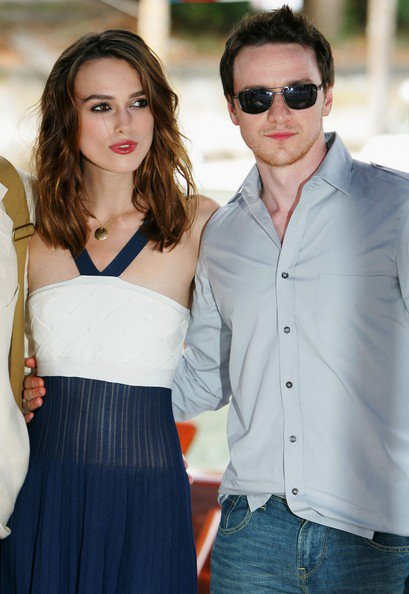 James McAvoy & Keira Knightley arriving at the 64th Venice Film Festival ~ Happy Birthday Keira!