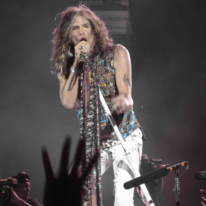Happy Birthday to Steven Tyler! What\s your favorite Aerosmith song?