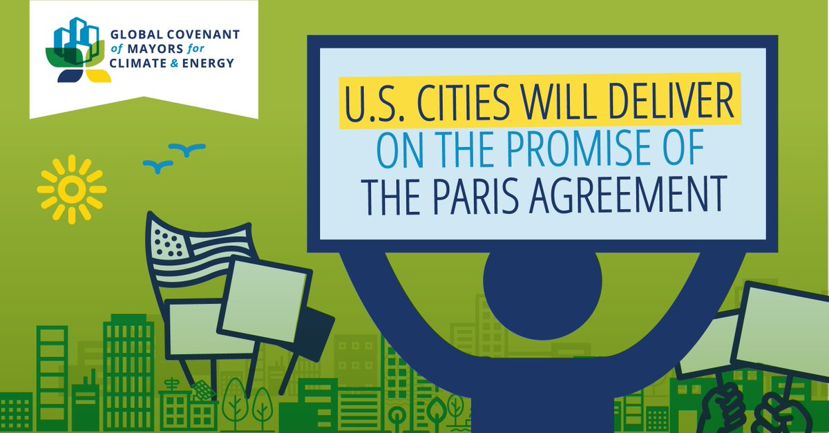 Mayors from Boston to Phoenix are resolved to meet commitments to the #ParisAgreement no matter national policies  http:// mikebloom.bg/2m29KJb  &nbsp;  <br>http://pic.twitter.com/QgFmxwF3f2