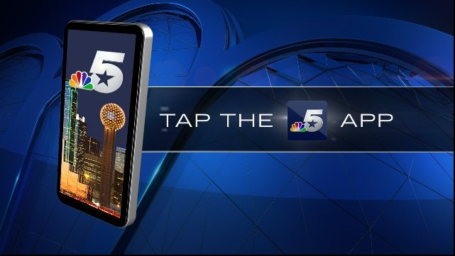 Stay weather aware, get the nbcdfw app  make weather the home screen
