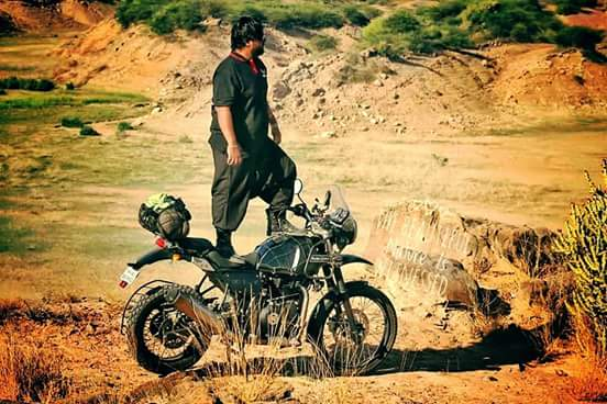 What is with these Royal Enfield riders really?