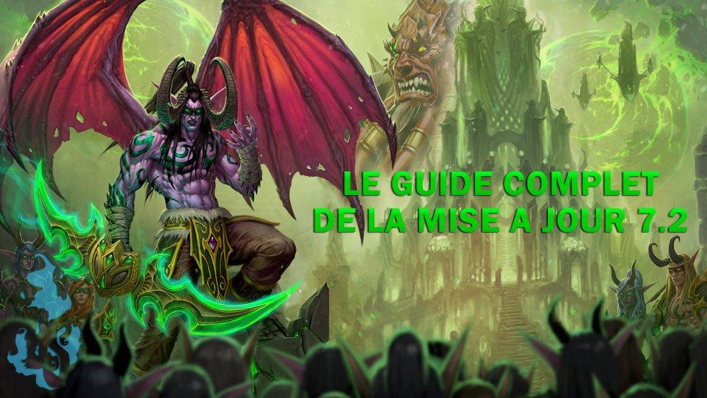 Notre guide complet de la mise à jour 7.2 est disponible ! #Warcraft #Legion @Warcraft_FR :  http://www. blizzspirit.com/warcraft/le-gu ide-complet-de-la-mise-a-jour-7-2/ &nbsp; … <br>http://pic.twitter.com/uyqbyJyDmV