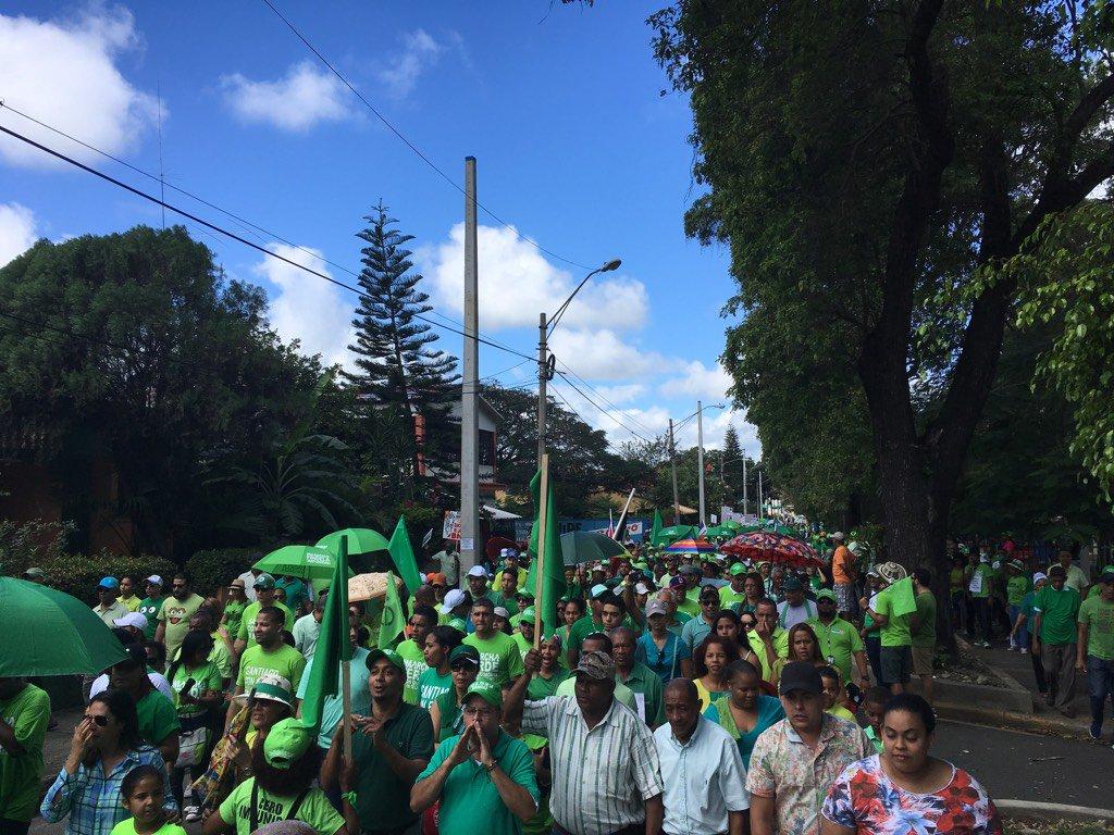 Santiago se estremece! El #CibaoMarcha por el #FinDeLaImpunidad https://t.co/yvwi5pN5d9