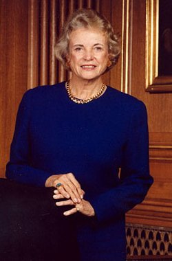 Happy birthday to Sandra Day O\Connor, retired associate justice and the first woman to serve as Justice.