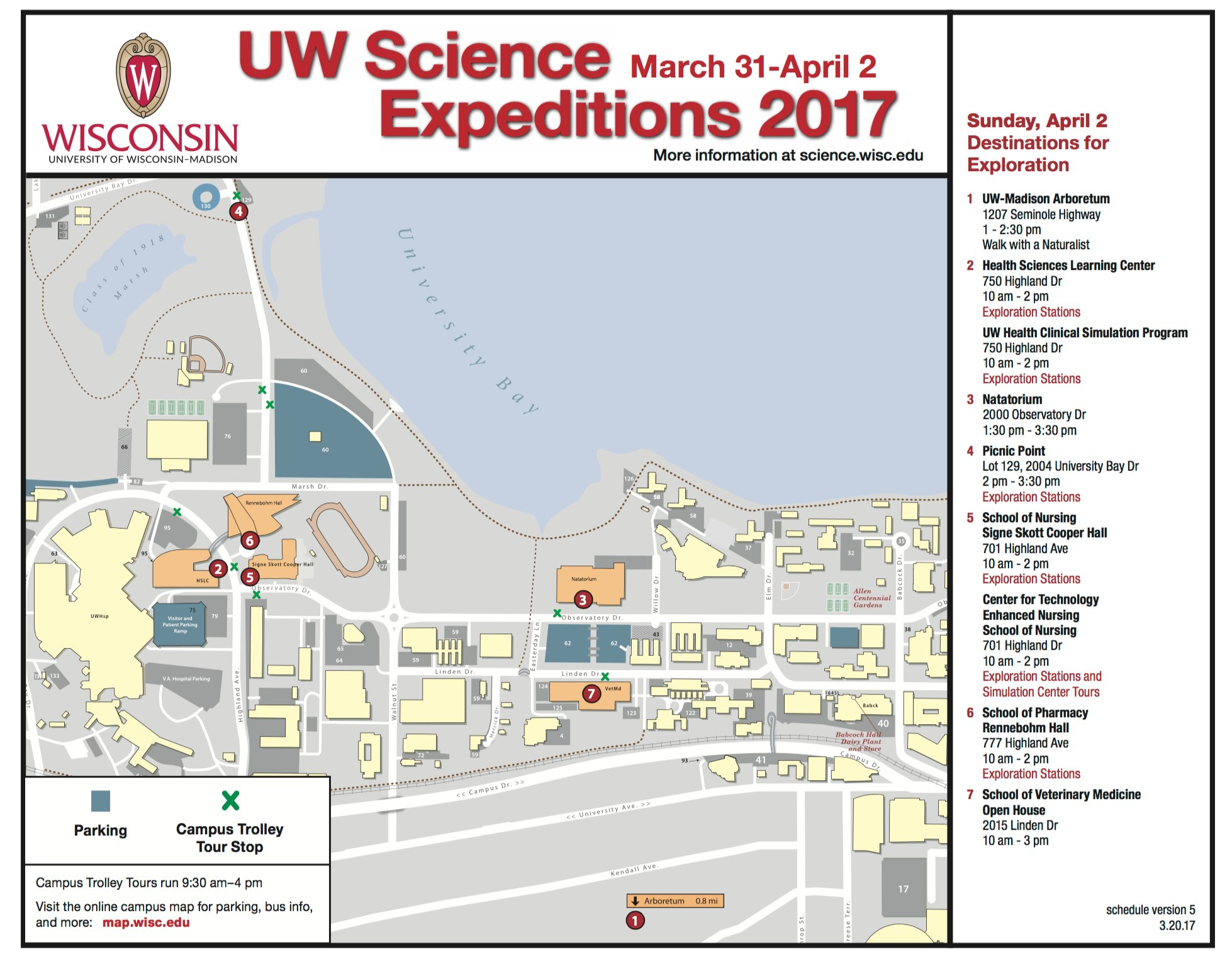 sciencewiscedu on twitter timetable map for sunday april  us madisoncampus map. midwest pcb registrants university of wisconsin madison maplets