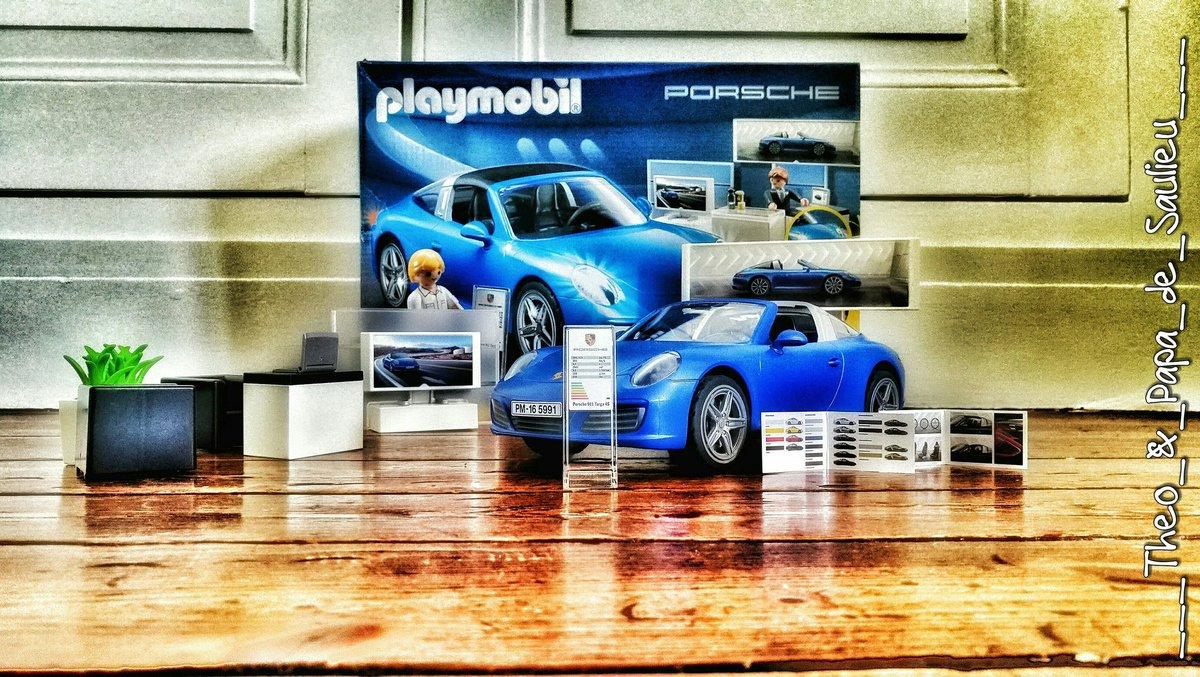 Aujourd&#39;hui ouverture de la première concession @Porsche_France  de @crepyenvalois ....  #playmobil #playing with #my #son .....<br>http://pic.twitter.com/2yT6oZHKZ1