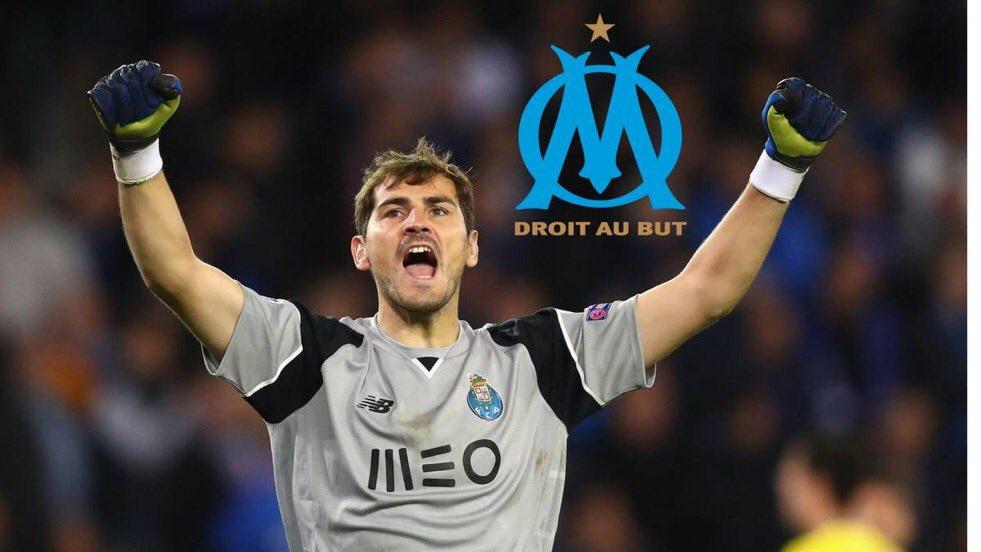 BREAKING    : Selon le média AS, le portier Casillas aurait donné son accord pour rejoindre l&#39;OM !   #TeamOM / #MercatOM <br>http://pic.twitter.com/jguwpKeUSv