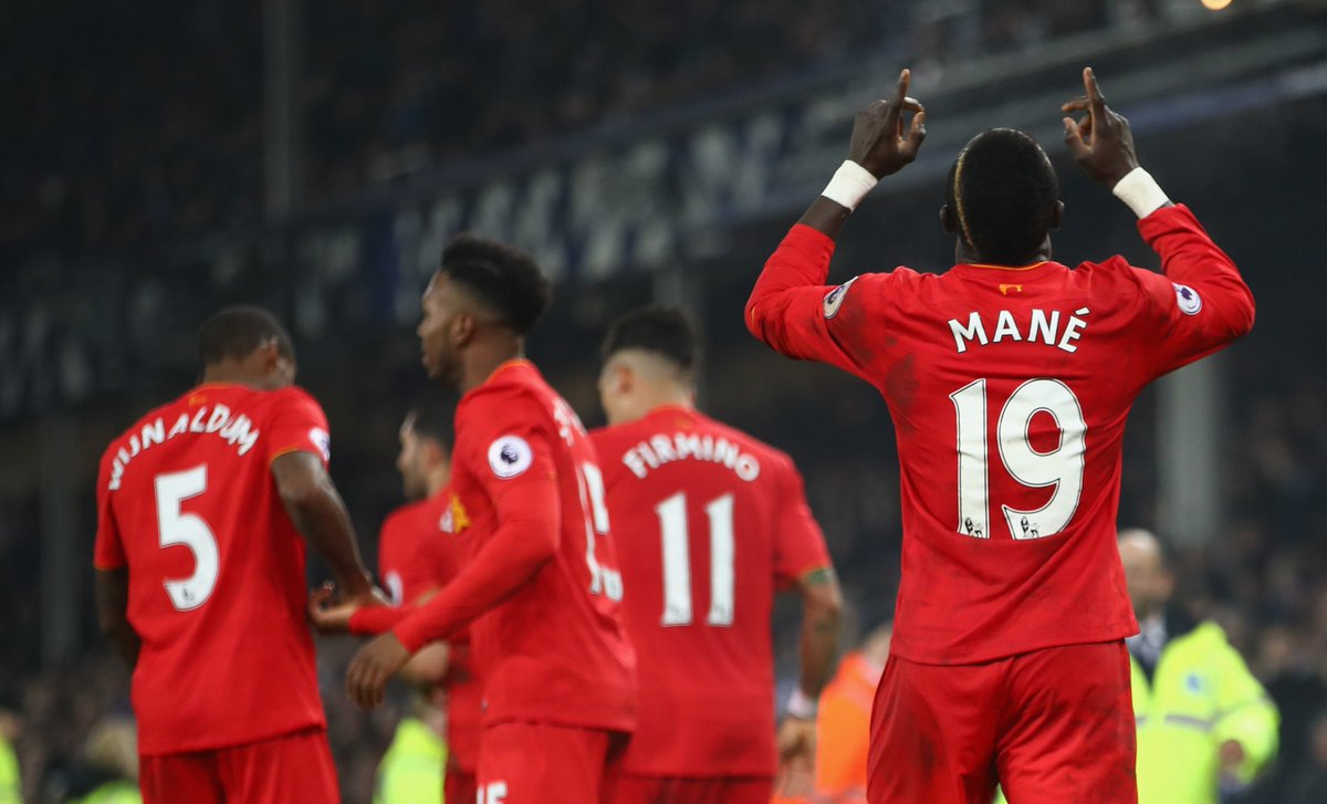 Later this week, we have the Merseyside derby... 🔴🔵  #MondayMotivation...