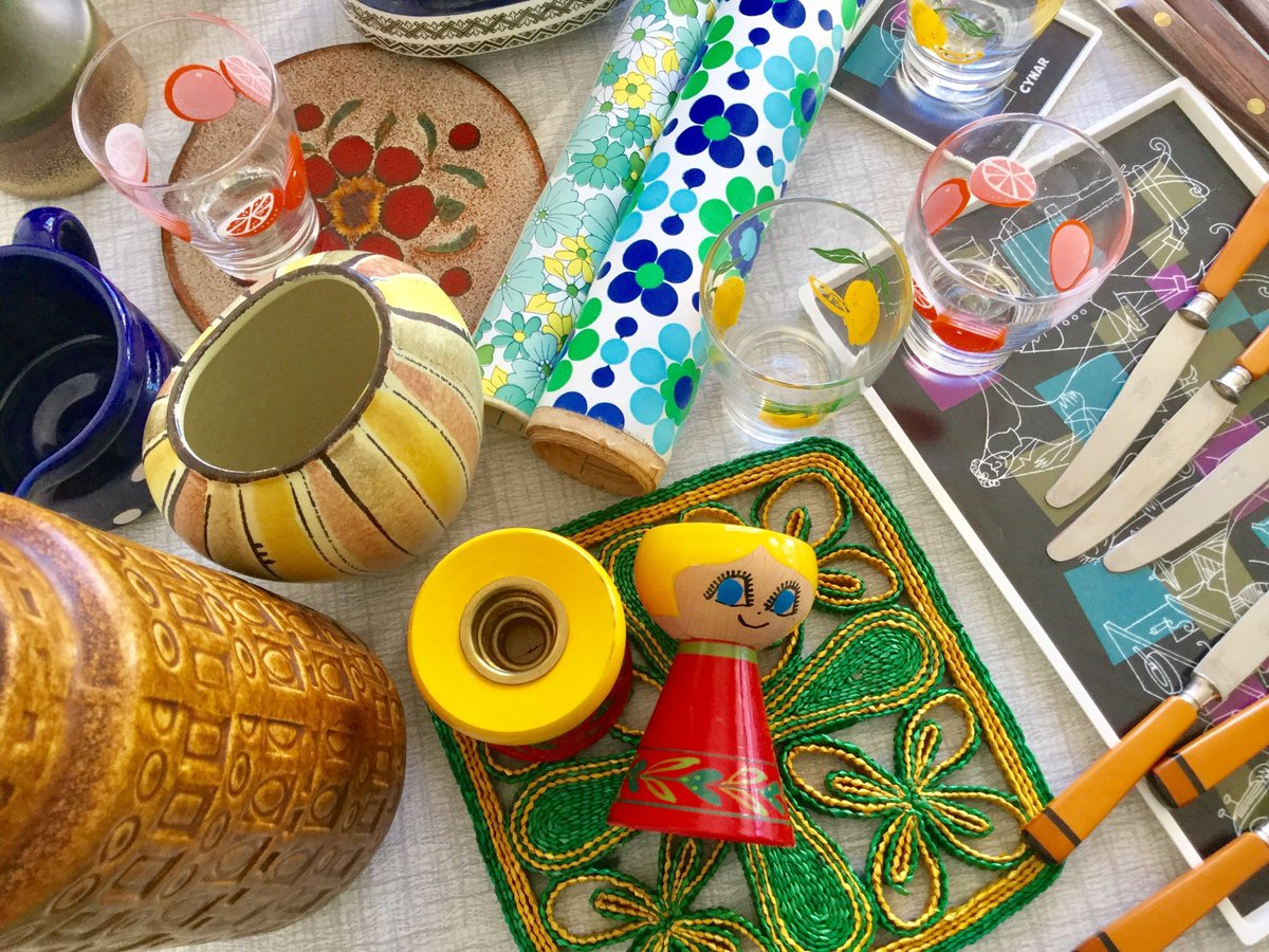 RetroDelia is back from holiday with new #vintage #retro #treasures #wgp #mcm #gifts #forsale #wiseshopper  http:// buff.ly/2n5ScMV  &nbsp;  <br>http://pic.twitter.com/DTvv4RmU1A
