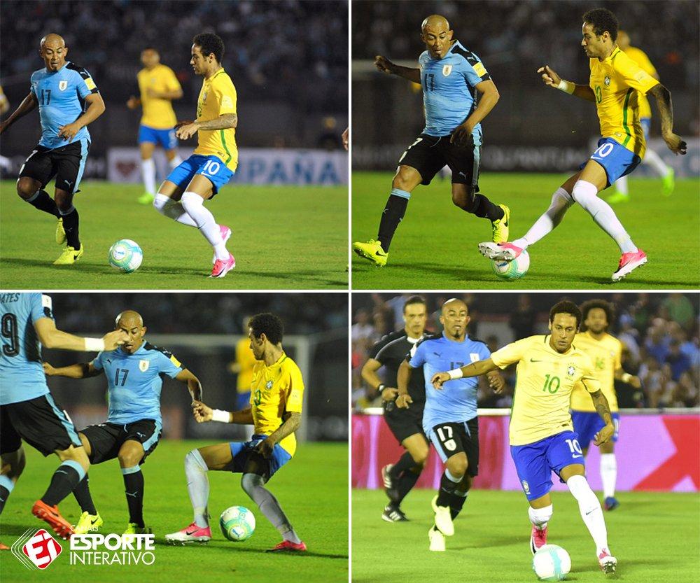 Neymar Jr. e essa mania de entortar colunas por aí... 😂 https://t.co/...